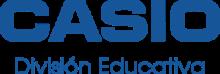Logo Casio División Educativa Azul